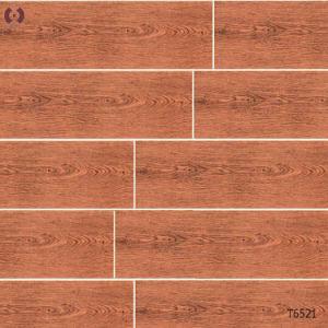 De badkamers betegelt het Houten Bouwmateriaal van de Tegel van de Vloer van de Korrel Ceramische (T6509)