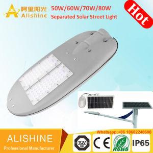 Gli indicatori luminosi solari di alta efficienza 70W LED hanno separato gli indicatori luminosi di via solari