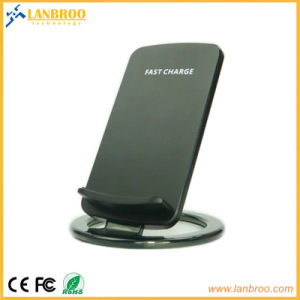 Diseño Skid-Proof Wireless Cargador para iPhone de Apple Samsung LG Google Cargador Dock inalámbrico