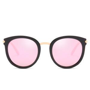 La moda Retro Metal mujer gafas de sol