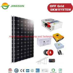 5kw Jingsun 10kw/grille hors réseau liée avec la batterie du système d'énergie solaire