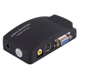 (BNC) Video Converter convertidor VGA AV AV Adaptador VGA a RCA de señal de TV para monitor VGA Converter