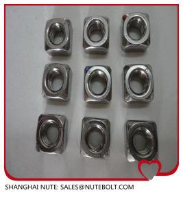 En acier inoxydable 304 316 l'écrou carré M10 DIN557