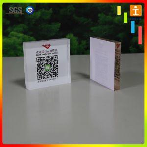 Цветной печати акриловые плата за размещение рекламных материалов (TJ-S102)