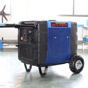 バイソン(中国) BS6300X 6.3kwの新型実際の出力電力発電機の製造者220Vインバーター発電機7000watt