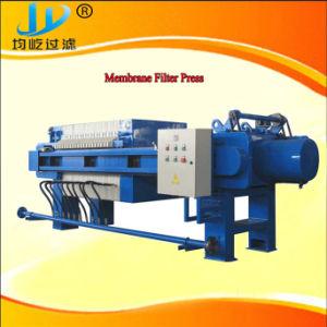 Membranen-Filterpresse des Programm-esteuerte Auto1000 pp. mit dem Tuch, das System wäscht und rüttelt