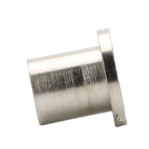 fait sur mesure à filetage femelle à tête plate en acier au carbone fendu Semi Rivets tubulaires de l'écrou