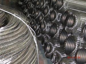 Flexible schraubenartige das Metall runzelte des umsponnenen Edelstahl-304/,/ringförmiger Schlauch