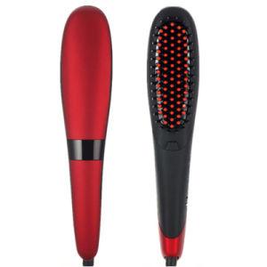 Cepillo de masaje LCD Comb Cepillo el alisado del cabello