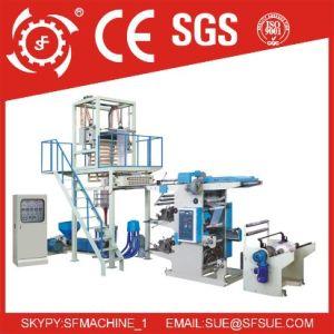 HDPE LDPE Polietileno polietileno Biodegradable ABA Mini máquina de soplado de película de plástico