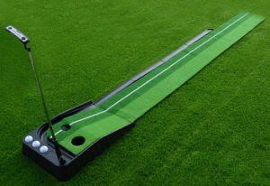 Auto Ball-Back Golf plástico poner formador