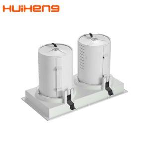 新製品100lm/W 25W*2の穂軸長方形LED Downlight