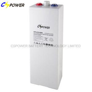 2V 600ahAGM Opzv de Batterij van het Gel voor Telecommunicatie/het Systeem van de ZonneMacht