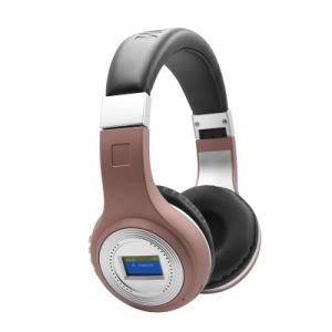 Graves estéreo HiFi TF tarjeta Wireless Bluetooth Auriculares de pantalla de la batería 471