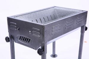 Il carbone di legna giapponese può registrare l'altezza del BBQ esterno della griglia del barbecue (media)
