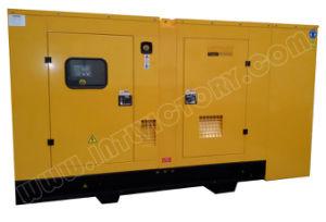 generatore diesel silenzioso eccellente 152kw/190kVA con il motore BRITANNICO Ce/CIQ/Soncap/ISO della Perkins