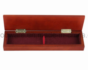 Acabado mate marrón/lápiz de madera de bambú de embalaje Caja de regalo