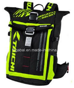 RS272 Ourtdoor Taichi Waterproof Motorcycle Racing Deportes mochila de viaje con la luz