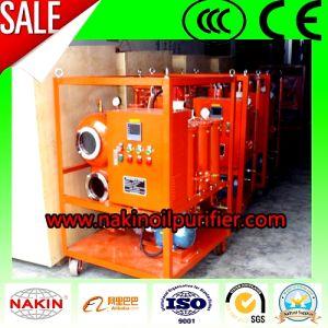 Vacío de una sola etapa purificador de aceite de transformadores de la máquina, equipo de filtración de aceite/reciclado.