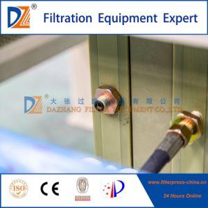 Deshidratación de lodos-- Filtro de membrana de prensa