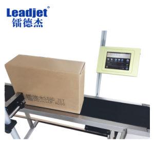 La codificación de caracteres industriales de gran número de máquina de impresoras de inyección de tinta