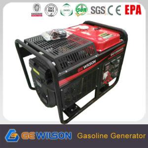 Honda motor generador de gasolina de 9500W con arranque eléctrico