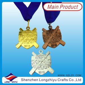 Il bronzo dell'argento dell'oro di figura del carter la medaglia di sport della pressofusione