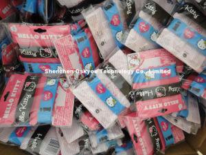 Braccialetti promozionali del Wristband del silicone del gattino di amore del regalo I ciao