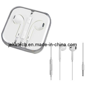 Écouteur pour l'iPhone 5/5s avec commande de volume et Mic