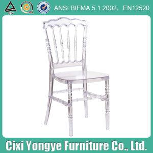 Event Use를 위한 우아한 Crystal Plastic 나폴레옹 Chair