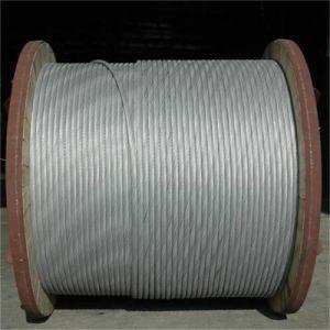 Cabo de comunicação de aço revestido de alumínio Acs Strand Fio para longa linha de transmissão de calibragem