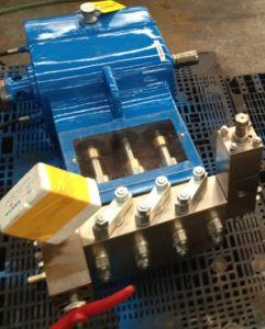 Pompe haute pression, haute pression de pompe à piston, nettoyage haute pression pompe (WP2-S)