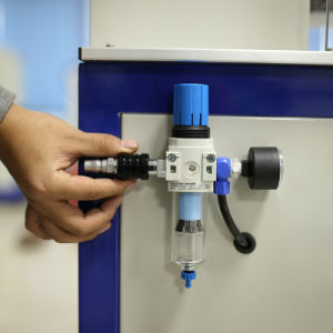 Effcient 높은 압축 공기를 넣은 Semi-Automeic 금속 기계장치를 인쇄하는 단색 USB 저속한 드라이브 패드