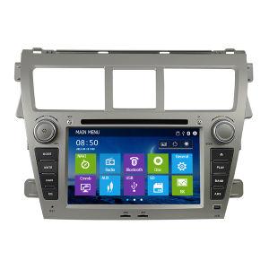Toyota Vios 2003-2010년 (IY7045)를 위한 GPS 3G New Platform를 가진 특별한 Car DVD Player