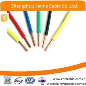 Com isolamento de PVC Wireh Elétrico07V-K H07V-U H07V-R único fio de cobre