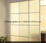 Fornecendo o vidro geado manchado, vidro da tabela do vidro de segurança