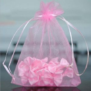Fabricant de petits de gros de l'organza/Mesh sac de cadeaux pour les bijoux