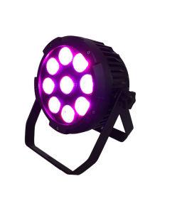 9*15W 5in1 RGBWAの電池LEDの同価ライト