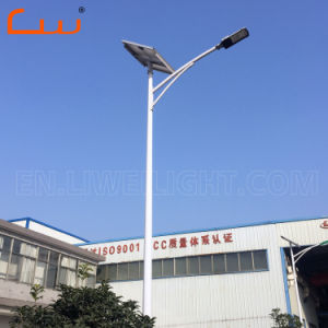 Jardín al aire libre Carretera 30W-100W de energía solar la energía Calle luz LED