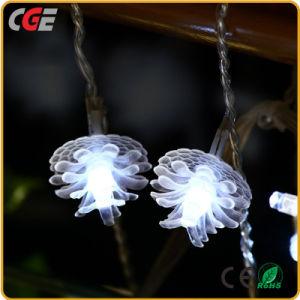 Indicatore luminoso variopinto di natale dell'indicatore luminoso leggiadramente LED dell'indicatore luminoso LED della stringa del LED per la festa di compleanno