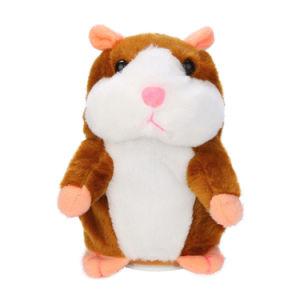La fabbrica adorabile ha personalizzato i giocattoli record di conversazione interessanti della peluche del criceto