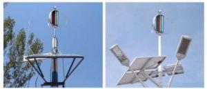 공장! 잡종 태양 100W 12V/24V 풍력 발전기