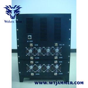 Estilo de cubos do sinal do telefone celular de alta potência Jammer