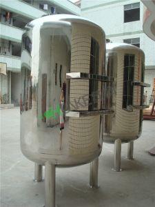 Chunke tanque del filtro de agua para la planta de tratamiento de agua