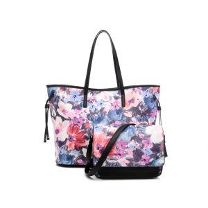 Bolsa da senhora de saco forma da mão do couro do saco do plutônio do desenhador das mulheres (MBNO043005-6)