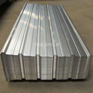 Galvalume trapézoïdal de feuilles de toit T Aluzinc toiture métallique de profil