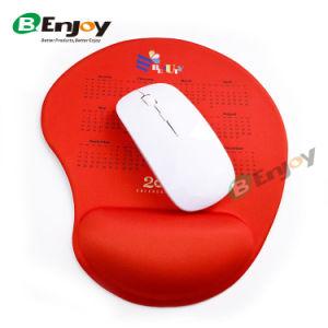 Impressão personalizada promocional Mouse pad de repouso do punho com gel de silicone