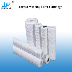 필터 감기 실리콘 O-Ring 빨리를 위한 미크론에 의하여 주름을 잡은 필터 카트리지는 물 이음쇠를 연결한다