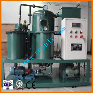 Minerales portátil la deshidratación de la máquina de filtración de aceite hidráulico