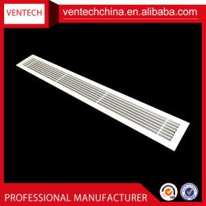 Китай поставщиков алюминия линейный штрих-забора воздуха решетки ниши воздухозабора
